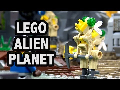 LEGO Alien Slave Mining Colony | Philly Brick Fest 2018