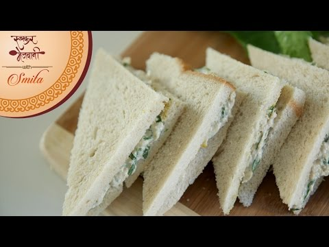 Chicken Mayo Sandwich | Easy & Quick Snack | Recipe by Smita Deo | Healthy Sandwich Recipe For Kids