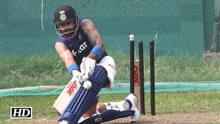 Asia Cup 2016 Final: Team India Sweating In Nets | Practice Session