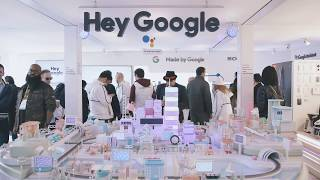 The Google Assistant Playground at CES 2018: Tiny City Tour