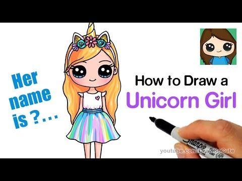 Xxx Mp4 How To Draw A Unicorn Cute Girl Easy 3gp Sex