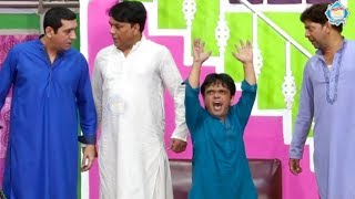 Zafri Khan and Vicky Kodu Stage Drama Baazigar Comedy Clip 2019 - New Stage Drama