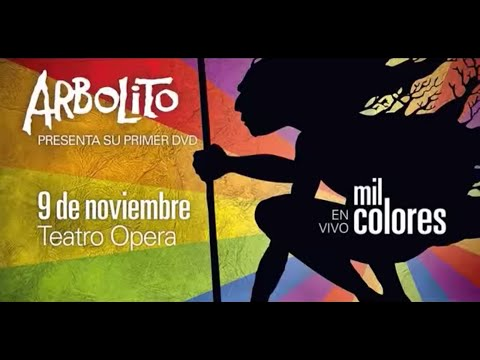 Arbolito llega al Teatro Opera con su primer dvd