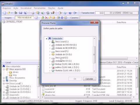 Convertendo arquivo DMG para ISO com UltraISO