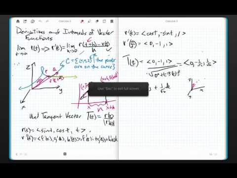 Calculus 3 Chapter 13.2