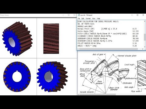 catia Helical gear design with formula explanation,How to make helical gear in catia with parameters