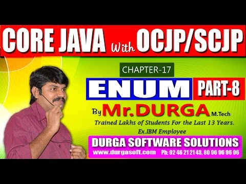 Core Java With OCJP/SCJP-ENUM-Part 8