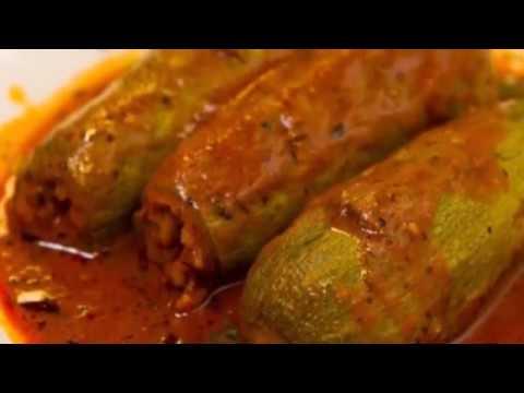 Stuffed Zucchini with Meat in 1 Minute (Kousa Mahshi)