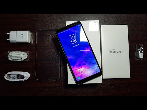 Samsung Galaxy A8 Plus 2018 Unboxing!