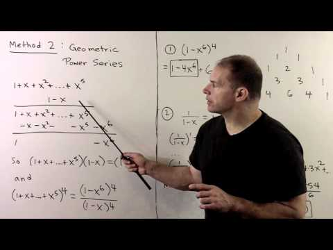 Extracting Coefficients Using Power Series