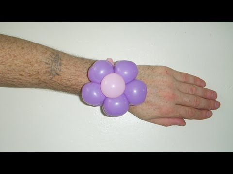 Balloon flower bracelet