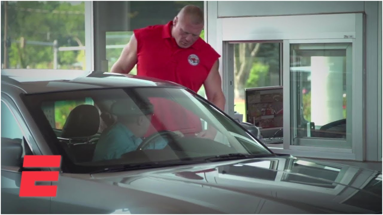 Brock Lesnar's day as an ESPN security guard   ESPN