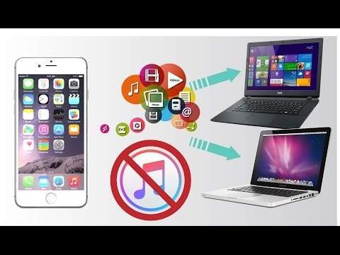 How to Transfer Files From PC to iPhone - iPad - iPod (Without iTunes!) [2017]