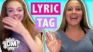 THE LYRICS TAG | Alyssa Vlogs
