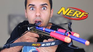 MOST PAINFUL NERF GUN ON EARTH!! I GOT HIT!!! (EXTREME NERF GUN EDITION!!) *INSANELY DANGEROUS*