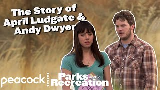 The Story of April Ludgate & Andy Dwyer - Parks and Recreation