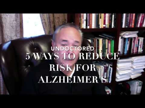 Five Ways to Reduce Risk for Alzheimer's