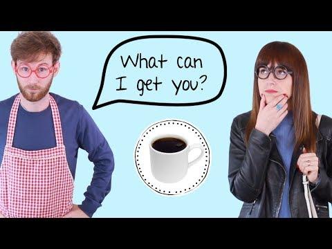 Cómo pedir un café en inglés   Coffee with milk? 🙅