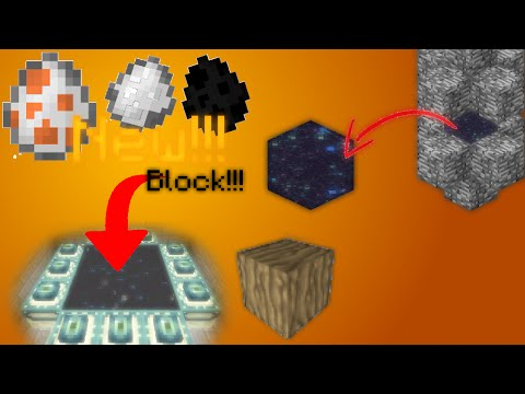 minecraft - New Spawn eggs/Blocks One Command