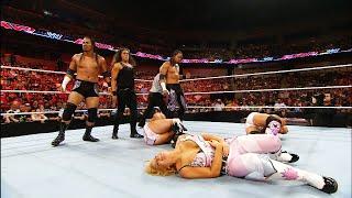 The Usos and Tamina make their WWE Debut: Raw, May 24, 2010