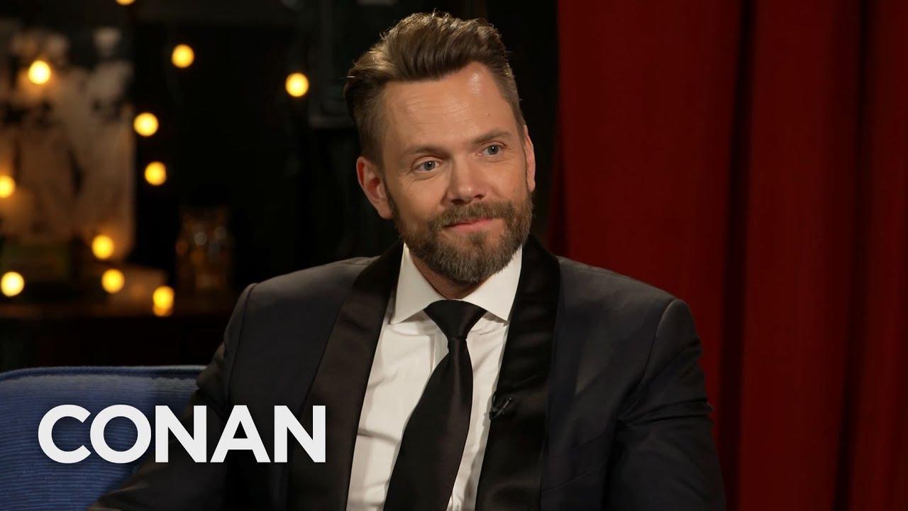 #CONAN: Joel McHale Full Interview - CONAN on TBS