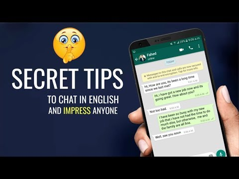 Secret Tips To Chat in English on WhatsApp and Facebook