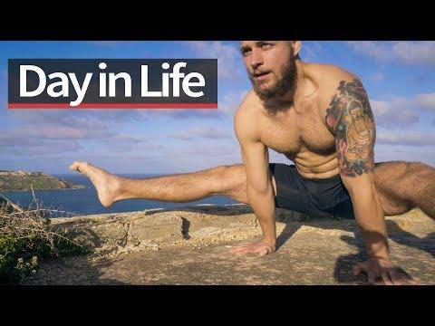 Day in Life of Calisthenics Athlete (Malta)
