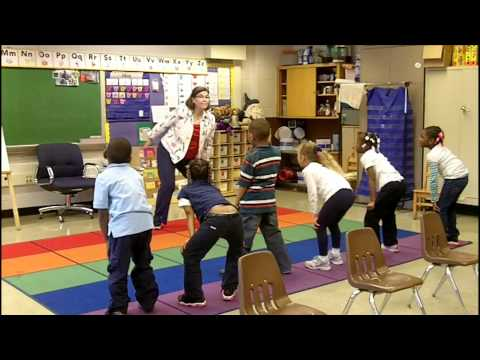 Action Words, Part 1 (Classroom Physical Activity Breaks)