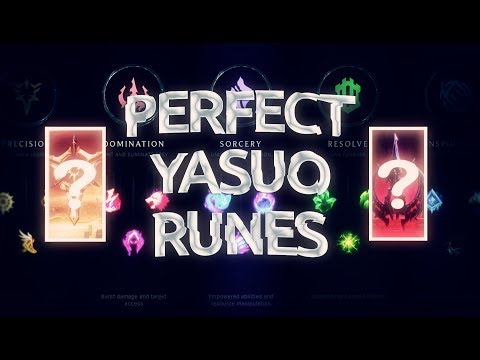 TheWanderingPro - The Best Runes For Yasuo !?