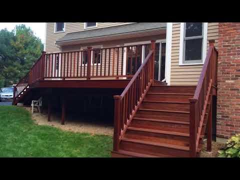 Mahogany Deck Refinishing. - BCPC, Inc. General Contractor