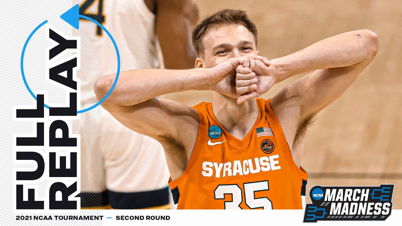 Syracuse vs. West Virginia: 2021 NCAA tournament 2nd round | Full game