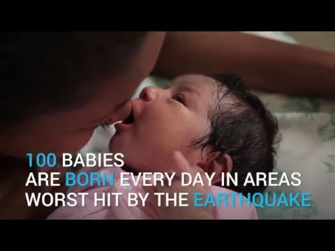 Milagro, the 'miracle' baby born just hours before Ecuador earthquake   UNICEF