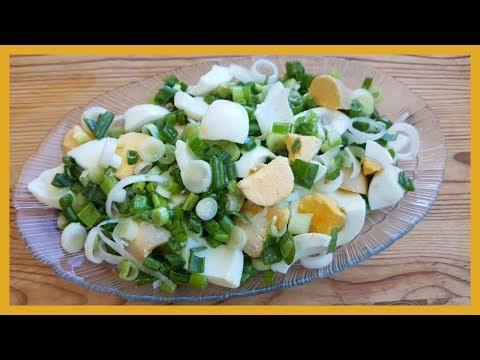 Easy Spring-Onion Egg Salad