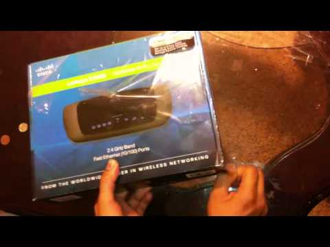 Cisco Linksys E1000 Unboxing.wmv