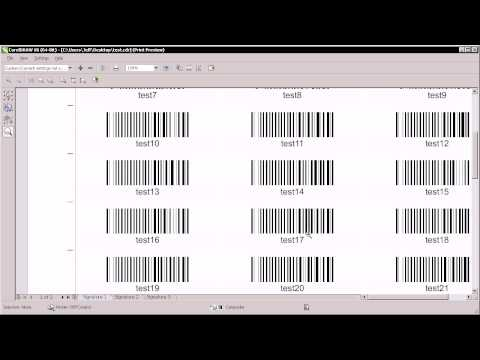 Create bulk QR codes and barcodes in CorelDRAW