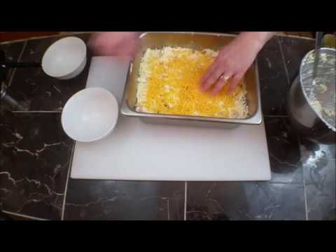 Cheesy Ham Hashbrown Casserole