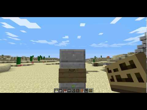 how to make a grave (tombstone) in minecraft