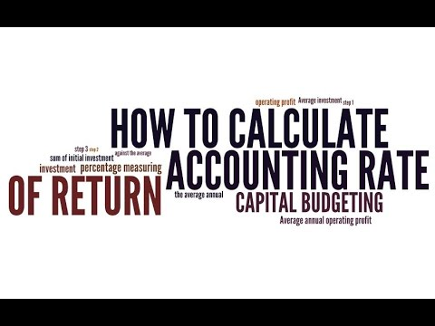 HOW TO CALCULATE ACCOUNTING RATE OF RETURN IN 5 STEPS