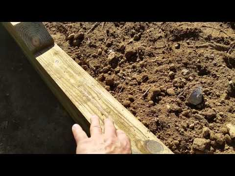 Springfield timber retaining wall