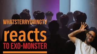 WhatsTerryDoingTV REACTS TO EXO-MONSTER (kpop)