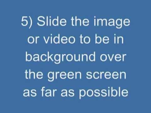 How to green screen with Windows Movie Maker for FREE