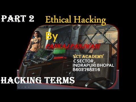 Ethical Hacking in Hindi - Part 2  | Hacking Terminology | By Pankaj Panjwani