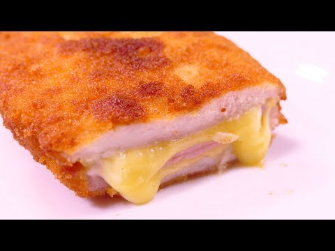 HAM & CHEESE CHICKEN BREASTS - Food & Cooking easy recipes