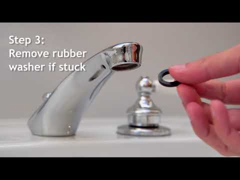 Replace Your Faucet Aerator - WaterSense Bath Hack #2