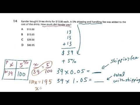 7th Grade Math - Test Prep - Book 1