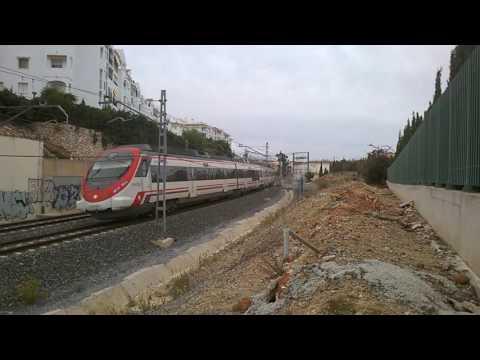 trainspotting in malaga Spain 2015
