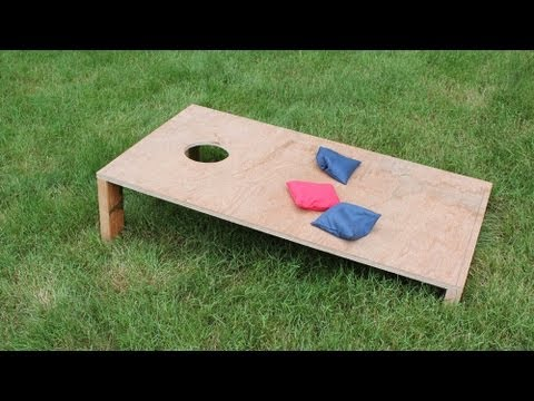 How to Make a Corn Hole Game - Jon Peters