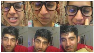 Benafsha soonawalla live with boyfriend varun sood on Instagram