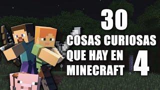 30 cosas curiosas que hay en Minecraft - Parte 4