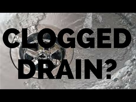 UNCLOG YOUR DRAIN WITH BAKING SODA AND VINEGAR - NO CHEMICALS